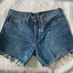 Levis Vintage High Rise Shorts